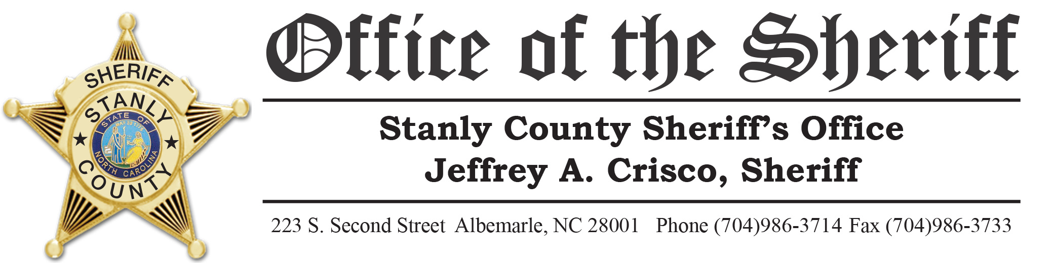 Stanly County Sheriff's Office